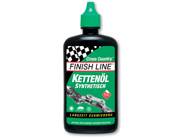 Finish Line Cross Country kædeolie grøn/sort (2019) | polish_and_lubricant_component